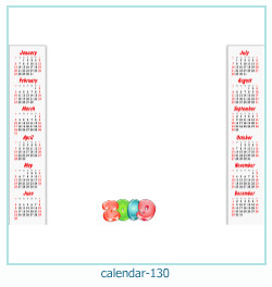 calendario marco de fotos 130