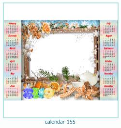 calendario marco de fotos 155