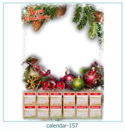 calendário moldura 157