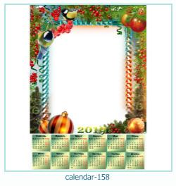 calendario marco de fotos 158