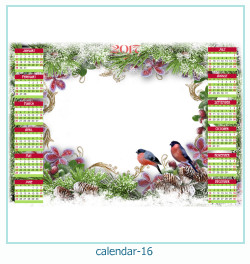 calendrier cadre photo 16