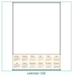 calendario fotografico cornice 160