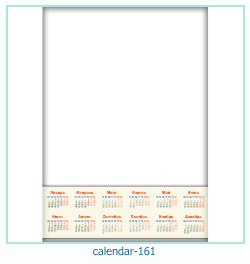 calendario fotografico cornice 161