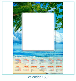 कैलेंडर फोटो फ्रेम 165
