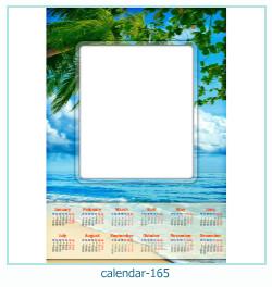 calendario fotografico cornice 165