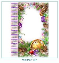 calendar photo frame 167