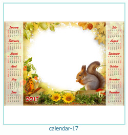 calendrier cadre photo 17