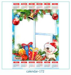 calendario marco de fotos 172