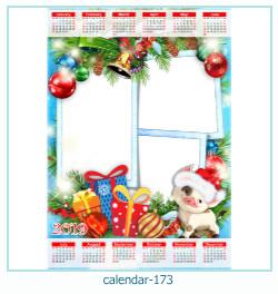 calendario marco de fotos 173