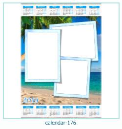 calendario marco de fotos 176