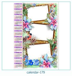 calendário moldura 179
