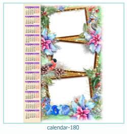calendario marco de fotos 180