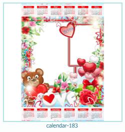 calendar photo frame 183