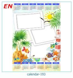календарь фото рамка 193