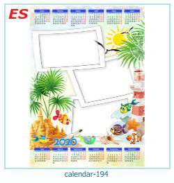 календарь фото рамка 194
