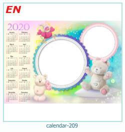 कैलेंडर फोटो फ्रेम 209