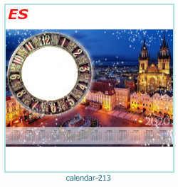 calendario marco de fotos 213