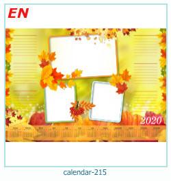 calendario marco de fotos 215