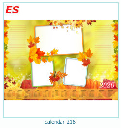 calendrier cadre photo 216