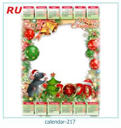 calendario marco de fotos 217