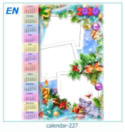 calendario marco de fotos 227