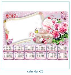 calendario fotografico cornice 23