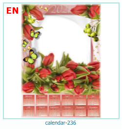 naptár képkeret 236