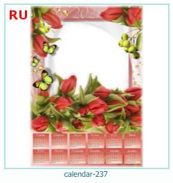 naptár képkeret 237