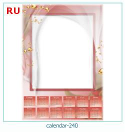 naptár képkeret 240