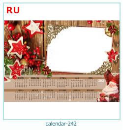 naptár képkeret 242