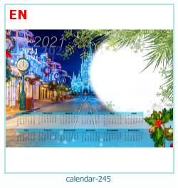 naptár képkeret 245
