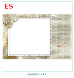 kalenteri valokuvakehys 247
