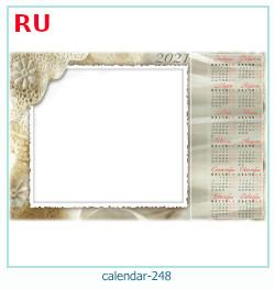 naptár képkeret 248