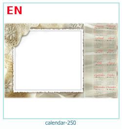 naptár képkeret 249