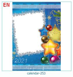 naptár képkeret 253