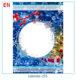naptár képkeret 255