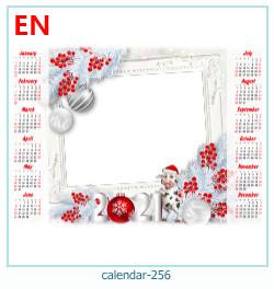 kalenteri valokuvakehys 256
