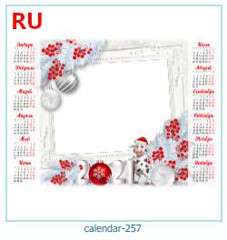 naptár képkeret 257