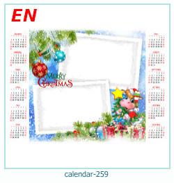 calendario marco de fotos 259