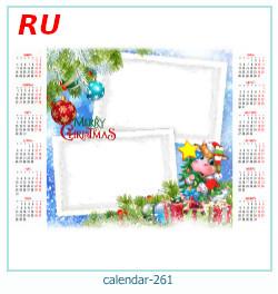 calendario marco de fotos 261
