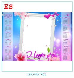 calendrier cadre photo 263