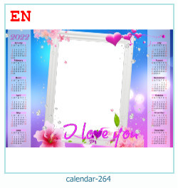 calendrier cadre photo 264