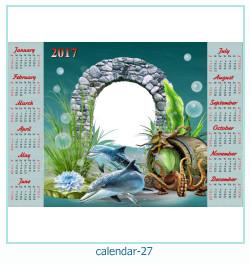 calendario marco de fotos 27