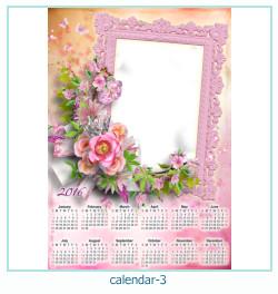 calendario marco de fotos 3