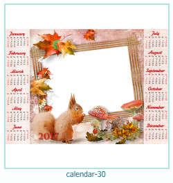 calendario fotografico cornice 30