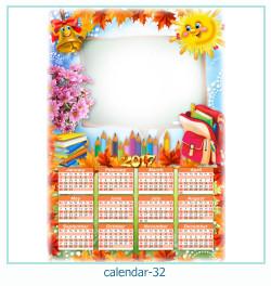 calendario fotografico cornice 32