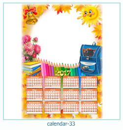 calendario fotografico cornice 33