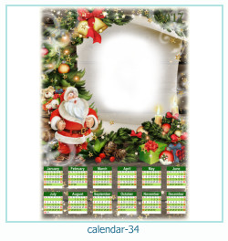 calendario fotografico cornice 34