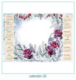calendario fotografico cornice 35