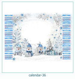 calendario fotografico cornice 36